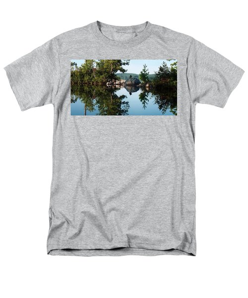 Men's T-Shirt  (Regular Fit) featuring the photograph Stone Stacking by Joy Nichols