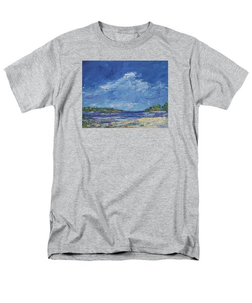 Stormy Day At Picnic Island Men's T-Shirt  (Regular Fit) by Gail Kent
