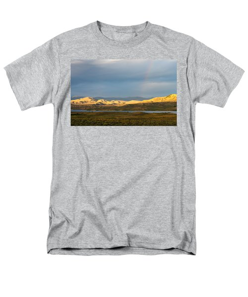Stormy Sky With Rays Of Sunshine Men's T-Shirt  (Regular Fit) by Nadja Rider