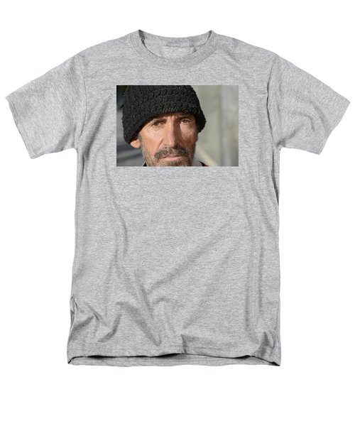 Street People - A Touch Of Humanity 24 Men's T-Shirt  (Regular Fit) by Teo SITCHET-KANDA