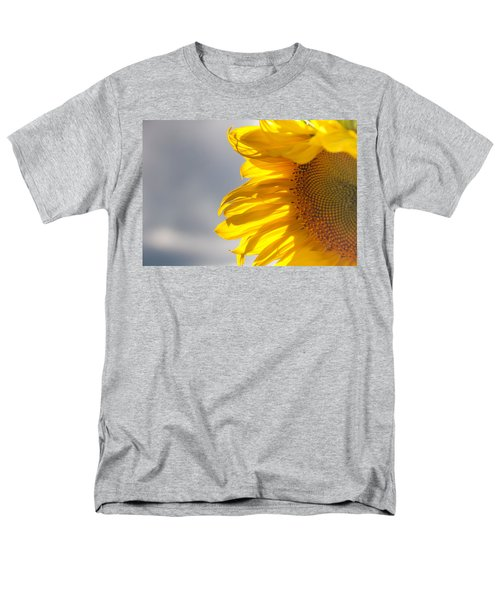 Men's T-Shirt  (Regular Fit) featuring the photograph Sunny Sunflower by Cheryl Baxter