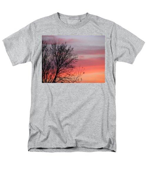 Sunset Silhouette Men's T-Shirt  (Regular Fit) by Ellen Meakin