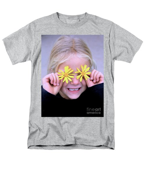 Sunshine Smile Men's T-Shirt  (Regular Fit) by Suzanne Oesterling
