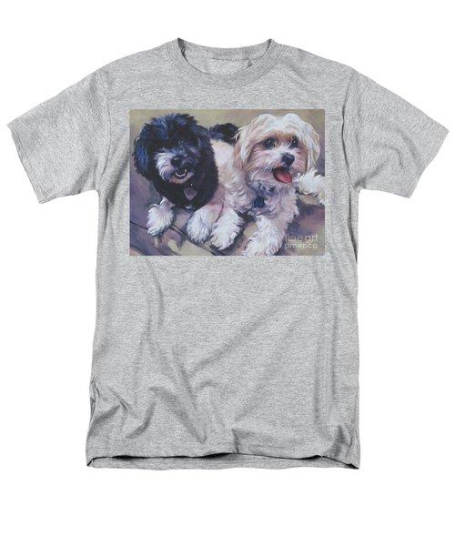 Sweet Havanese Men's T-Shirt  (Regular Fit) by Lee Ann Shepard