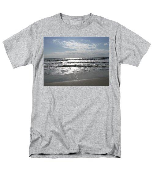 Swirling Sunshine Men's T-Shirt  (Regular Fit) by Ellen Meakin