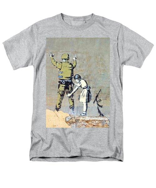 Switch Roles Men's T-Shirt  (Regular Fit) by Munir Alawi