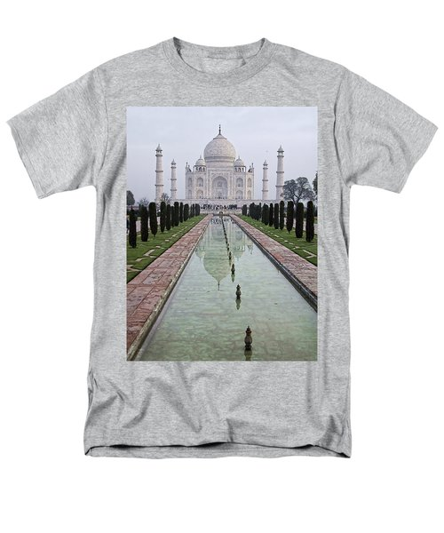 Taj Mahal Early Morning Men's T-Shirt  (Regular Fit) by John Hansen