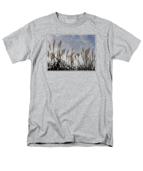 Tall Grasses And Blue Skies Men's T-Shirt  (Regular Fit) by Dora Sofia Caputo Photographic Art and Design