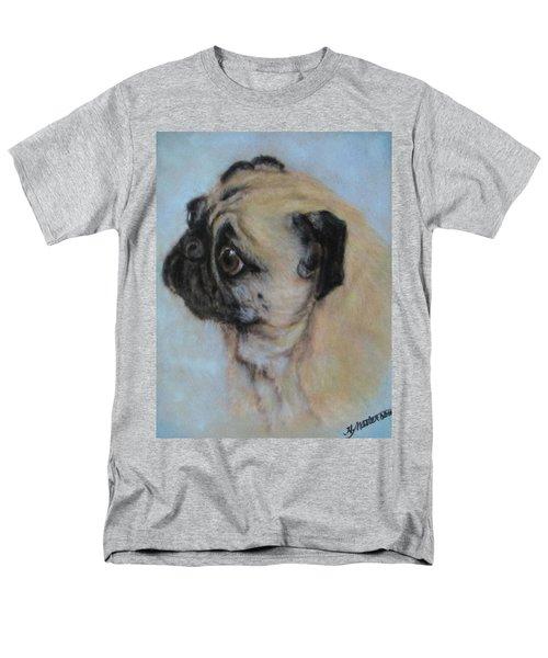 Pug's Worried Look Men's T-Shirt  (Regular Fit)
