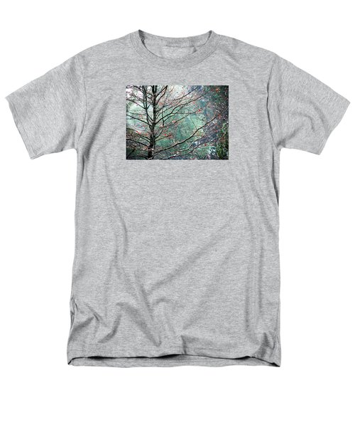 Men's T-Shirt  (Regular Fit) featuring the photograph The Aura Of Trees by Angela Davies