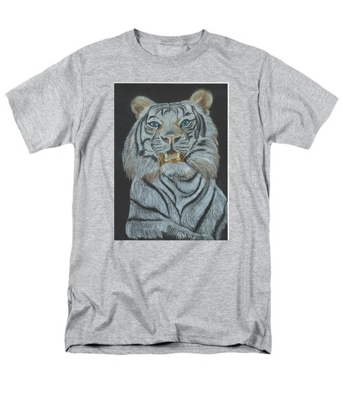 Men's T-Shirt  (Regular Fit) featuring the pastel The Bengal by Carol Wisniewski
