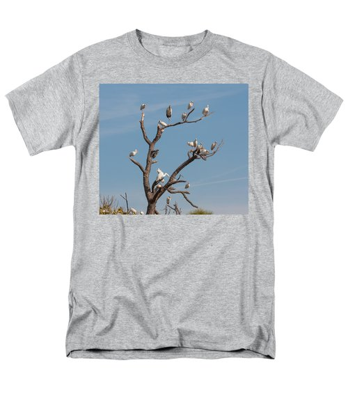 Men's T-Shirt  (Regular Fit) featuring the photograph The Bird Tree by John M Bailey
