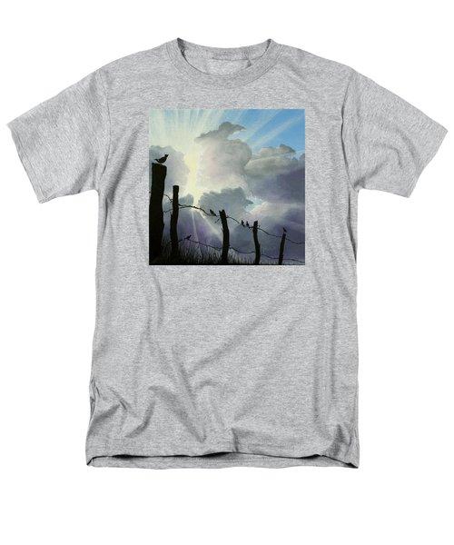 The Birds - Make A Joyful Noise Men's T-Shirt  (Regular Fit) by Jack Malloch