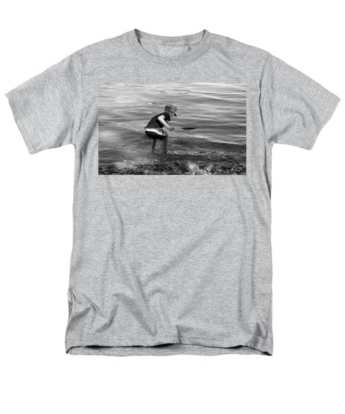 Men's T-Shirt  (Regular Fit) featuring the photograph  The Collector by Debbie Oppermann