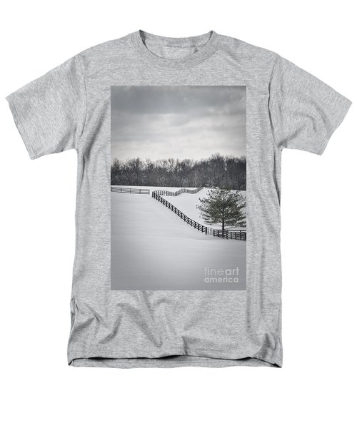 The Color Of Winter - Bw Men's T-Shirt  (Regular Fit) by Mary Carol Story