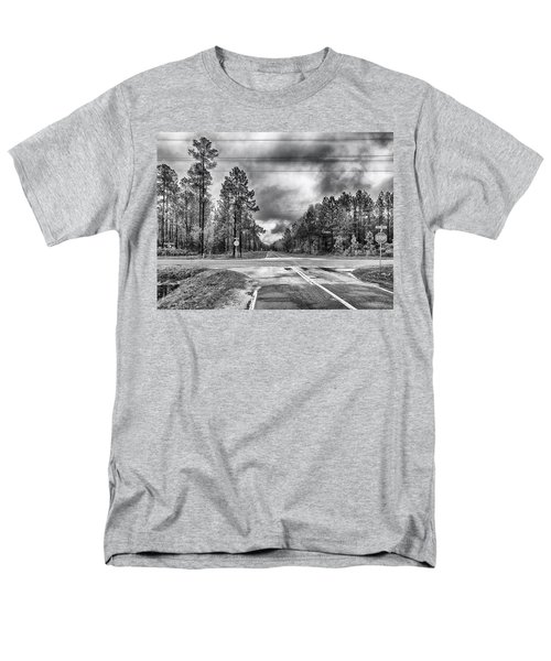 The Crossroads Men's T-Shirt  (Regular Fit) by Howard Salmon