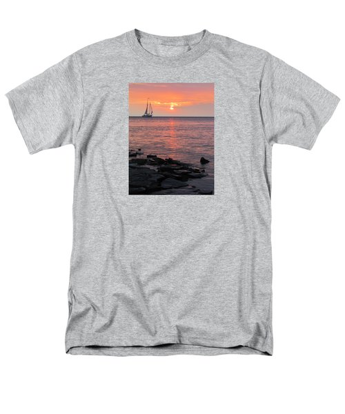 The Edith Becker Sunset Cruise Men's T-Shirt  (Regular Fit) by David T Wilkinson