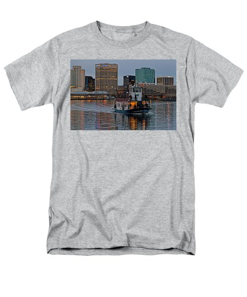 The Ferry To Portsmouth Men's T-Shirt  (Regular Fit) by Jerry Gammon
