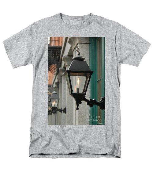 Men's T-Shirt  (Regular Fit) featuring the photograph The Gas Light by Patrick Shupert