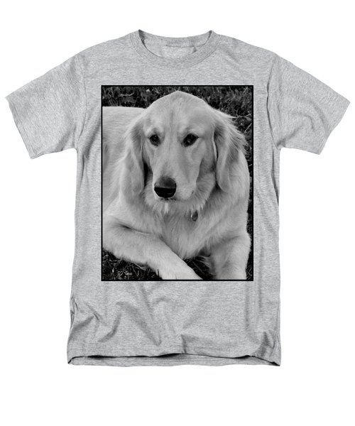 Men's T-Shirt  (Regular Fit) featuring the photograph The Golden Retriever by James C Thomas