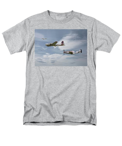 The Good Shepherd Men's T-Shirt  (Regular Fit) by Pat Speirs
