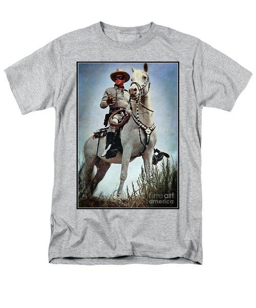 The Lone Ranger Men's T-Shirt  (Regular Fit) by Bob Hislop