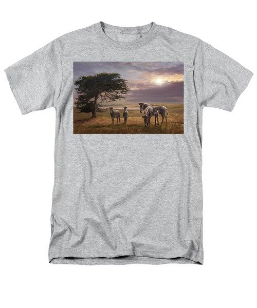 The Mane Event Men's T-Shirt  (Regular Fit) by Melinda Hughes-Berland