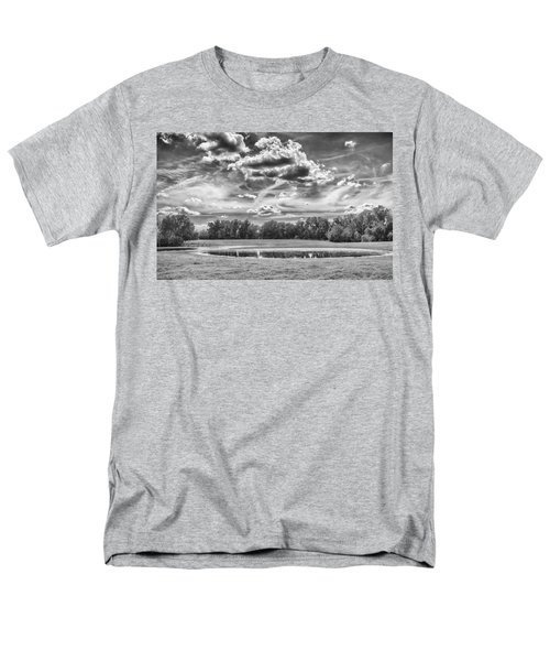 Men's T-Shirt  (Regular Fit) featuring the photograph The Pond by Howard Salmon