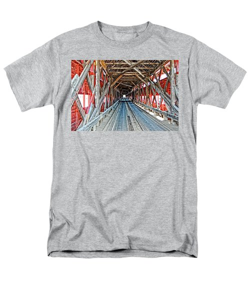 Men's T-Shirt  (Regular Fit) featuring the photograph The Road Less Traveled by Bianca Nadeau