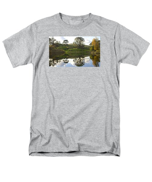 The Shire Middle Earth Men's T-Shirt  (Regular Fit) by Venetia Featherstone-Witty