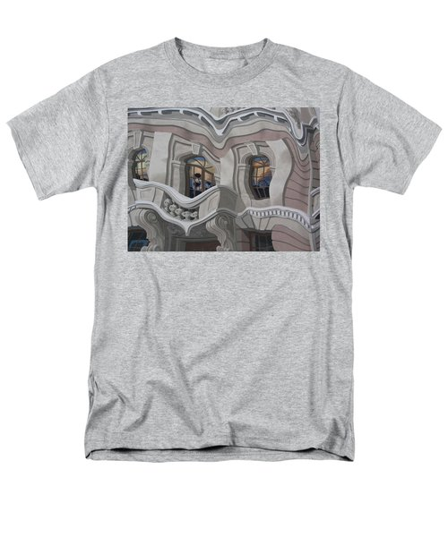 Men's T-Shirt  (Regular Fit) featuring the photograph The Walls Are Coming Down by Natalie Ortiz
