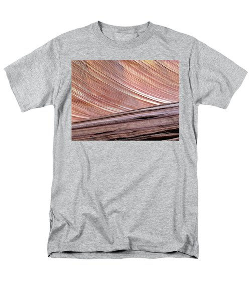 Men's T-Shirt  (Regular Fit) featuring the photograph 'the Wave' North Coyote Buttes 02 by Jeff Brunton