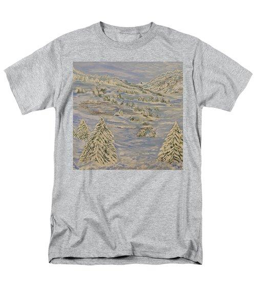 The Winter Heart Men's T-Shirt  (Regular Fit) by Felicia Tica