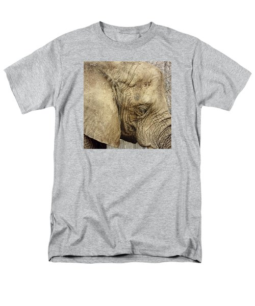 The Wise Old Elephant Men's T-Shirt  (Regular Fit) by Nikki McInnes