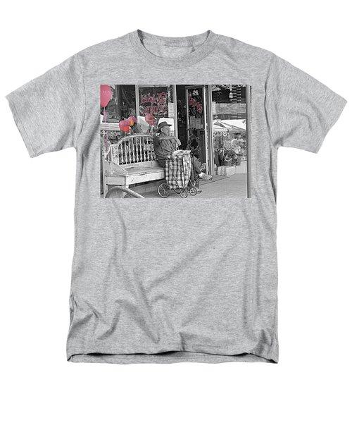 Tickled Pink Men's T-Shirt  (Regular Fit) by Bartz Johnson