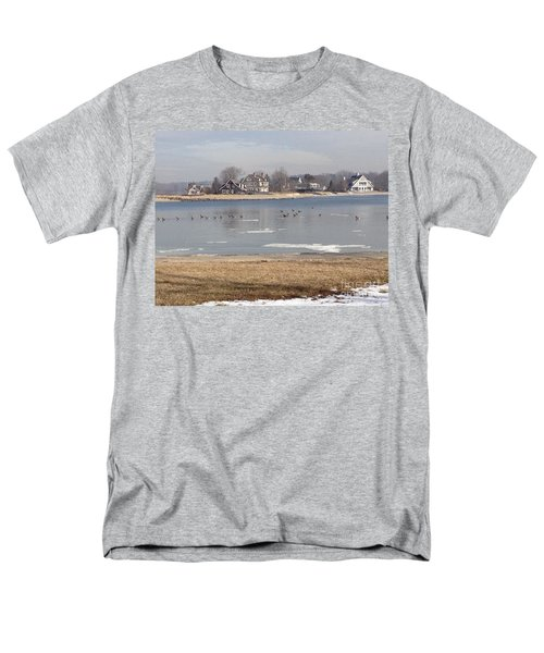 Time In New England Men's T-Shirt  (Regular Fit)
