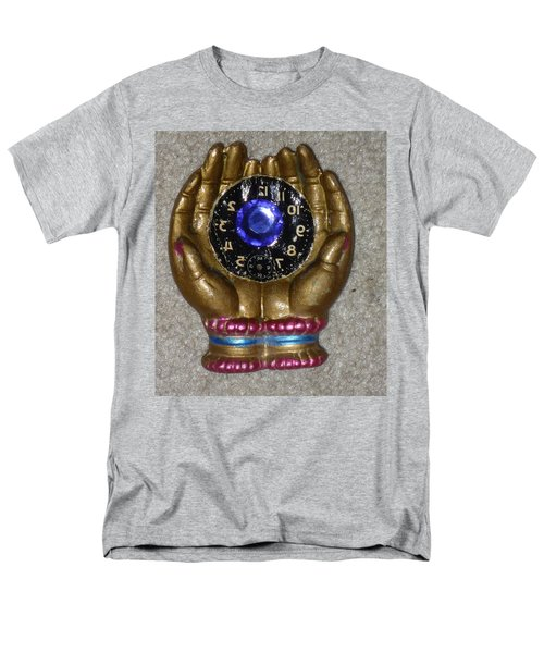 Men's T-Shirt  (Regular Fit) featuring the sculpture Timeless Hands by Douglas Fromm