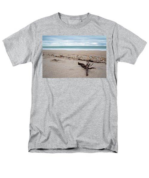 Topsail Island Driftwood Men's T-Shirt  (Regular Fit)