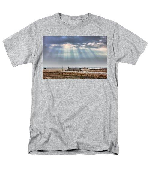 Touched By Heaven Men's T-Shirt  (Regular Fit) by Sennie Pierson