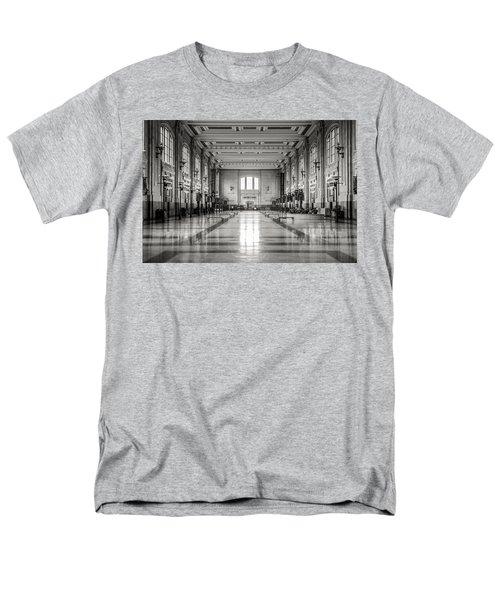 Train Station Men's T-Shirt  (Regular Fit) by Sennie Pierson
