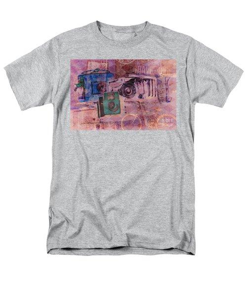 Travel Log Men's T-Shirt  (Regular Fit) by Erika Weber