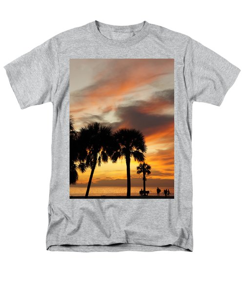 Men's T-Shirt  (Regular Fit) featuring the photograph Tropical Vacation by Laurie Perry