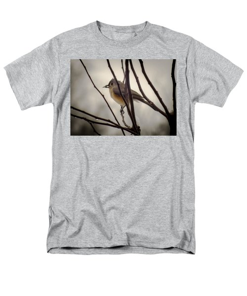 Tufted Titmouse Men's T-Shirt  (Regular Fit) by Karen Wiles