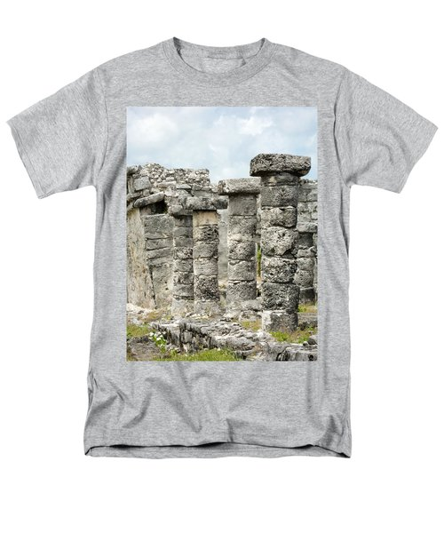 Men's T-Shirt  (Regular Fit) featuring the photograph Tulum by Silvia Bruno