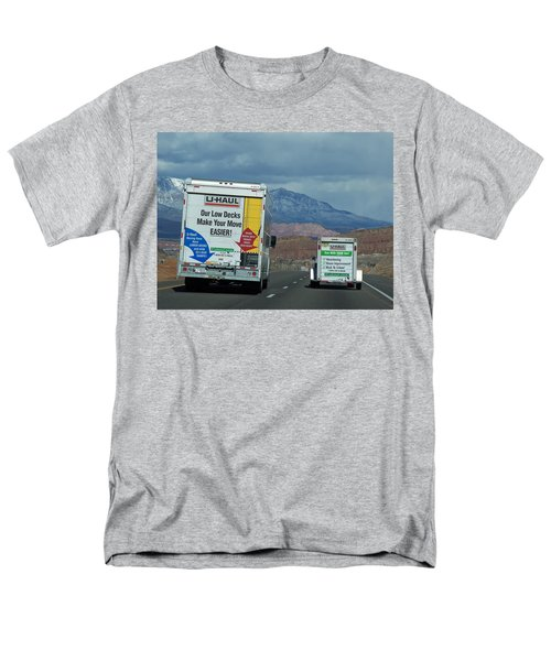 Uhaul On The Move Men's T-Shirt  (Regular Fit) by Tikvah's Hope