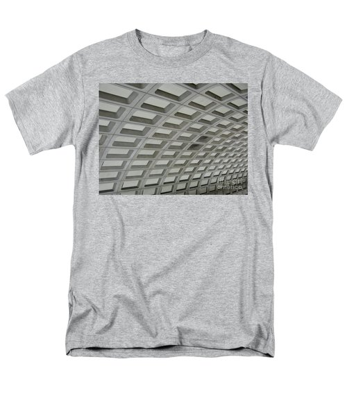 Underground. Washington Dc. Usa Men's T-Shirt  (Regular Fit) by Ausra Huntington nee Paulauskaite
