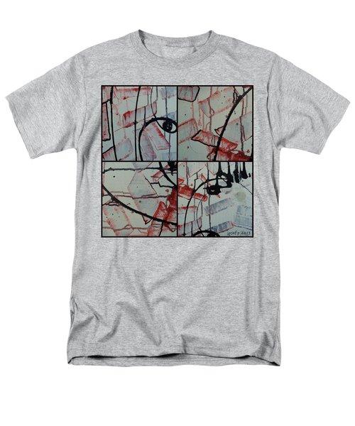 Men's T-Shirt  (Regular Fit) featuring the photograph Unfaithful Desire Part One by Sir Josef - Social Critic - ART