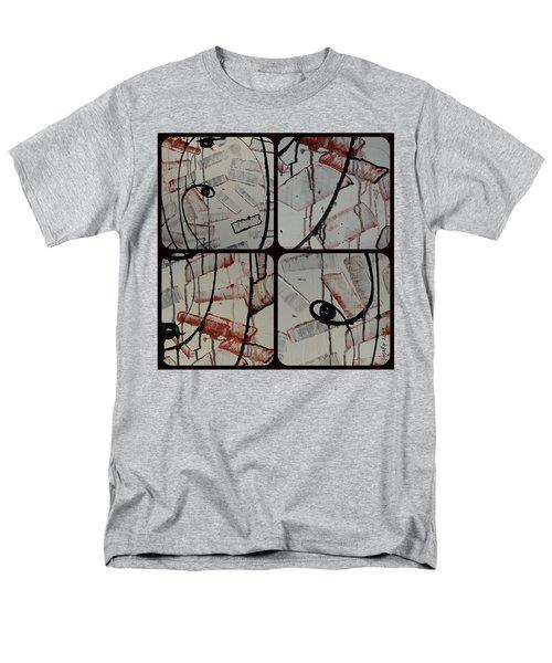 Men's T-Shirt  (Regular Fit) featuring the photograph Unfaithful Desire Part Two by Sir Josef - Social Critic - ART