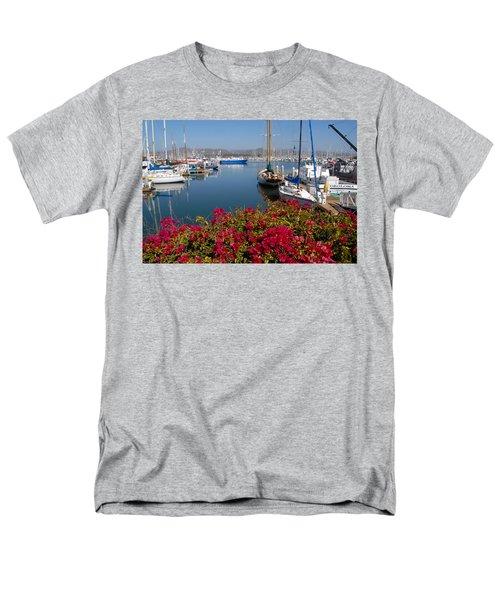 Ventura Harbor Men's T-Shirt  (Regular Fit) by Lynn Bauer