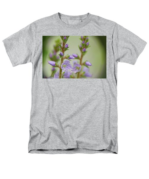 Men's T-Shirt  (Regular Fit) featuring the photograph Veronica's Tears by Peggy Collins